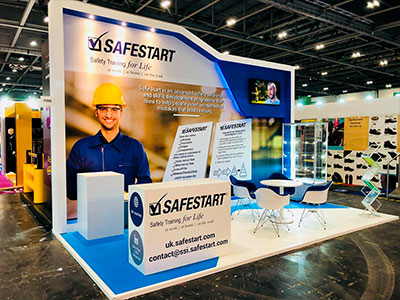 SafeStart - Stand @ Health and Safety 2018, Londres